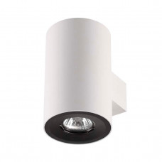 3581/2W HIGHTECH ODL18 225 белый с черным кольцом Настенный светильник IP20 GU10 2*50W 220V LACONA