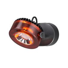3818/10WL L-VISION ODL19 черный c коньячным Настенный светильник LED 10W 220V VIVACE