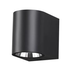 358294 STREET NT19 000 черный Ландшафтный светильник IP65 LED 4000K 4W+4W 220V OPAL