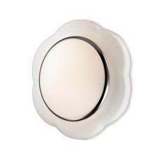 2403/2C CLASSIC ODL13 673 белый Н/п светильник IP44 E27 2*40W 220V BAHA
