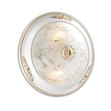 2670/2C CLASSIC ODL14 596 белый с зол.декором/бел Потолочн светильник E14 2*60W 220V CORBEA