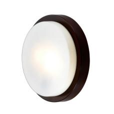 2744/2C DROPS ODL15 661 венге/стекло Н/п светильник IP44 E14 2*40W 220V HOLGER