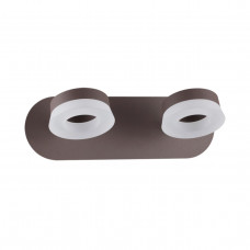 3537/2WL L-VISION ODL18 коричневый Настенный светильник IP20 LED 3000K 2*6W 708Лм 220V WENGELINA