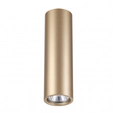 3828/1C HIGHTECH ODL19 209 золот/металл Подвесн/накладн. светильник GU10 1*50W D60хH200-1220 VINCERE