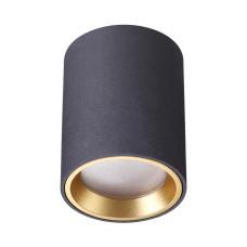 4205/1C HIGHTECH ODL20 188 черный/металл Потолочный светильник GU10 50W IP54 AQUANA