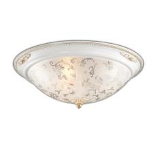 2670/3C CLASSIC ODL14 596 белый с зол.декором/бел Потолочн светильник E27 3*60W 220V CORBEA