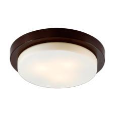 2744/3C DROPS ODL15 661 венге/стекло Н/п светильник IP44 E14 3*40W 220V HOLGER