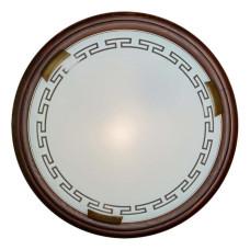 160/K SN 106 Светильник стекло E27 2*60Вт D360 GRECA WOOD