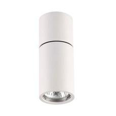 3582/1C HIGHTECH ODL18 203 матов.белый Потолочный накладной светильник IP20 GU10 1*50W 220V DUETTA
