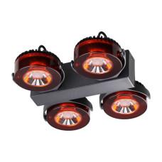 3818/40CL L-VISION ODL19 черный c коньячным Настенный светильник LED 4*10W 220V VIVACE