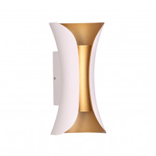 3886/6WG HIGHTECH ODL20 177 бел/золот/металл Настен.светильник LED 4000K 6W 220V IP54 KRISTA