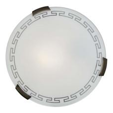 161/K SN 105 Светильник стекло E27 2*60Вт D300 GRECA