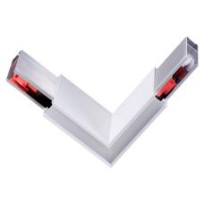135078 OVER NT19 050 белый Соединитель угловой токопроводящий IP20 LED 4000K 3W 220-240V ITER