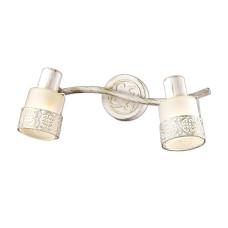 2786/2W CLASSIC ODL15 645 белый с позолотой/стекло Подсветка с выкл E14 2*40W 220V MATISO