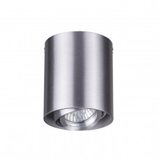 3576/1C MODERN ODL18 191 матов.алюминий Потолочн.накладной светильник IP20 GU10 1*50W 220V MONTALA