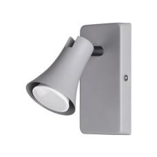 3825/1W MODERN ODL19 серый Настенный светильник GU10 1*50W 220V REANNA