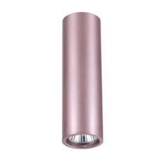 3829/1C MODERN ODL19 розовый/металл Подвесной/накладной светильник GU10 1*50W D60хH200-1220 VINCERE