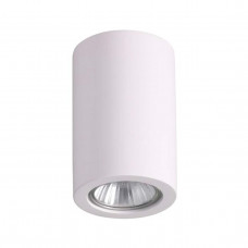 3553/1C HIGHTECH ODL18 196 белый гипсовый Потолочный накладной светильник IP20 GU10 1*35W 220V GIPS