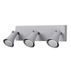3825/3W MODERN ODL19 серый Настенный светильник GU10 3*50W 220V REANNA