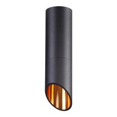 4209/1C HIGHTECH ODL20 197 черн/металл Потолочн.свет-к (поворотн по гориз оси) GU10 50W IP54 PRODY