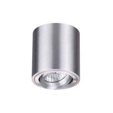 3566/1C MODERN ODL18 187 матов.алюминий Потолочн.накладной светильник IP20 GU10 1*50W 220V TUBORINO