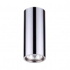 3578/1C MODERN ODL18 198 хром Потолочный накладной светильник IP20 GU10 1*50W 220V MELARDA