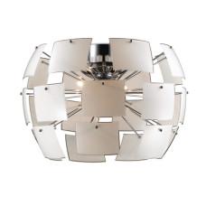 2655/4C CLASSIC ODL14 358 хром/белый Люстра потолочная G9 4*40W 220V VORM