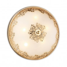 2676/5C CLASSIC ODL14 595 золото/белый Н/п светильник G9 5*40W 220V ALESIA