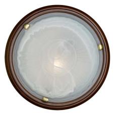 136/K SN 108 Светильник стекло E27 2*60Вт D360 LUFE WOOD