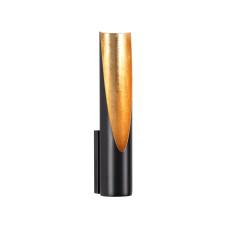 3816/8WL HIGHTECH ODL19 163 черн с золотом/металл Настенный светильник LED 6W 3000К 80х60 WHITNEY