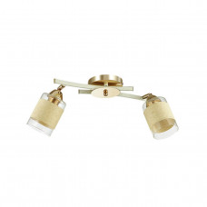 3029/2CA COMFI LN16 168 золото/беж/стекло/декор.тесьма Люстра потолочная E27 2*60W 220V FILLA