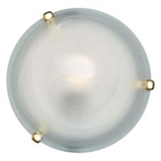 153/K золото SN 111 Светильник стекло E27 2*60Вт D300 DUNA