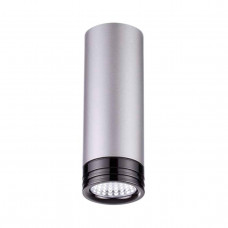 3580/9CL L-VISION ODL18 199 серый с черн Потолочн.накладн.св-ник IP20 LED 4000K 9W 720Лм 220V LEDROX