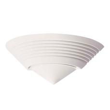 3547/1W MODERN ODL18 193 белый гипсовый Настенный светильник IP20 E14 1*40W 220V GIPS