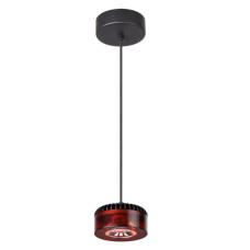 3818/10L L-VISION ODL19 черный c коньячным Подвесной светильник LED 10W 220V VIVACE