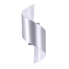 3800/5WL HIGHTECH ODL19 154 серебр/металл Настен.светильник LED 5W 400Лм 3000К 150*150 BOCCOLO