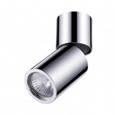 3827/1C HIGHTECH ODL19 205 хром полир/металл Накладн.поворотн.светильник GU10 1*50W D63хH160 DUETTA