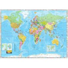 Komar 4-055 World Map / Flags